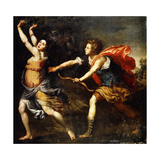 Apollo and Daphne Giclee Print by Lorenzo Lippi