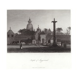 Jagannath Temple in Puri Giclee Print by Alfred Gomersal Vickers
