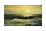 An Orange Sunset Waning Low, 1897 Giclee Print by William Trost Richards