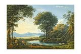 Harlech Castle, North Wales, C.1828 Giclée-Druck von John Varley