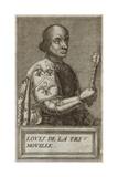 Louis II De La Tremoille Giclee Print by Andre Thevet