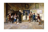 The Schoolroom Giclee Print by Francesco Bergamini