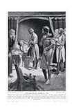 The Death of Henry II Ad1189, 1920's Giclee Print by Ernest Prater