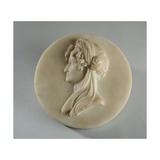Medallion Portrait of Mrs Elizabeth Gott, 1835 Giclee Print by Joseph Gott