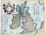 16th Century Map of the British Isles Photographic Print by Georgette Douwma