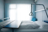 Empty Hospital Bed Prints by Mauro Fermariello