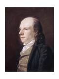 Portrait of John Flaxman, R.A., 1795 Giclee Print by John Raphael Smith