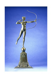 Diana of the Tower', a Bronze Figure, 1899 Giclee Print by Augustus Saint-gaudens
