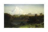 Mount Hood in Oregon Giclee Print by Albert Bierstadt