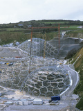 Eden Project Construction Photo by Carlos Dominguez