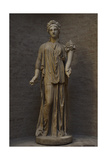 Sculpture. The Ancient Torso (Artemis Statue). Was Restored by Thorvaldsen as Ceres Giclee Print
