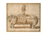Design for a Sweetmeat Box Giclee Print by Giulio Romano