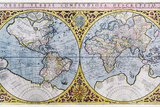 16th Century World Map Posters by Georgette Douwma