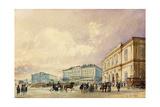 The Southstation, Vienna; Der Sudbahnhof, Wien, 1852 Giclee Print by Rudolph von Alt