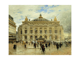 Grand Opera House, Paris Giclee Print by Frank Myers Boggs