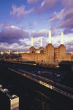 Battersea Power Station Photographic Print by Carlos Dominguez