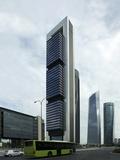 CTBA Skyscrapers, Madrid Photographic Print by Carlos Dominguez