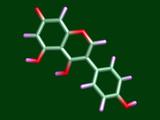 Genistein Antioxidant Molecule Poster by Dr. Tim Evans