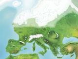 European Glaciation, Artwork Photographic Print by Gary Gastrolab