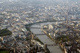 London, UK, Aerial Photograph Photographic Print by Carlos Dominguez
