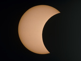 Partial Phae of An Annular Eclipse (10-May-1994) Photographic Print by Dr. Fred Espenak