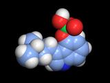 Psilocybin Hallucinogen Molecule Photo by Dr. Tim Evans