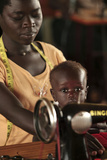 Working Mother And Child, Uganda Photographic Print by Mauro Fermariello