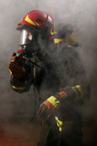 Firefighter Photographic Print by Mauro Fermariello