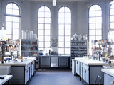 Chemistry Laboratory Photographic Print by Mauro Fermariello