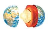 Earth Layers, Artwork Photo by Gary Gastrolab