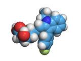 Fluvastatin Cholesterol-lowering Drug Photographic Print by Dr. Tim Evans