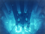 Advanced Test Reactor Core Photographic Print by us Department of Energy