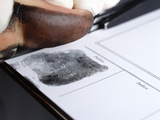Recording Thumbprint Photographic Print by Mauro Fermariello