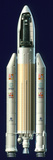 Ariane Rocket Prints by David Ducros