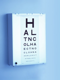 Eye Chart Print by Adam Gault