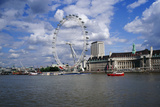 London Eye Photographic Print by Carlos Dominguez