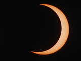 Partial Phase of An Annular Eclipse (10-5-94) Photographic Print by Dr. Fred Espenak