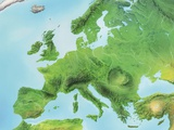 Europe, Artwork Photographic Print by Gary Gastrolab