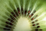 Kiwi Slice Photographic Print by Vaughan Fleming