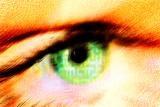 Eye Photographic Print by Hannah Gal