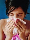 Woman Sneezing Photographic Print by Hannah Gal