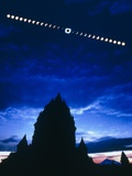 Timelapse Image of a Total Solar Eclipse Photographic Print by Dr. Fred Espenak