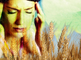 Wheat Allergy Photographic Print by Hannah Gal