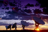 Very Large Array (VLA) Radio Antennae Photo by Dr. Fred Espenak