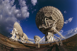 Very Large Array (VLA) Radio Antennae Photographic Print by Dr. Fred Espenak