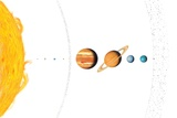 Solar System Planets, Artwork Photo by Gary Gastrolab