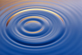 Ripples From Water Drop Photographic Print by Martin Dohrn