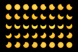 Partial Solar Eclipse Posters by Dr. Fred Espenak