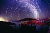 Star Trails In the Southern Night Sky Posters by Dr. Fred Espenak