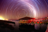 Star Trails Poster by Dr. Fred Espenak